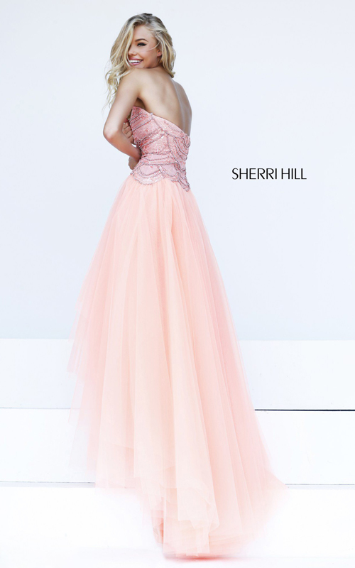 hot sale blush sherri hill 11082 junior prom dress-1